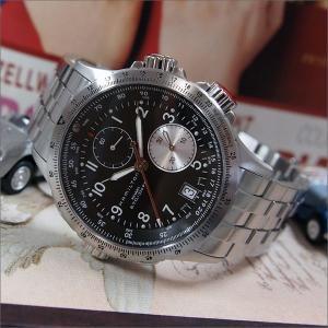 ハミルトン HAMILTON 腕時計 H77612133 カーキ アヴィエーション ETO メタルベルト メンズ クォーツ|ippin