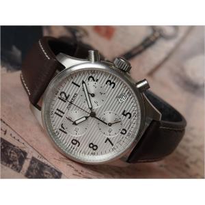 ユンカース JUNKERS 腕時計 WELLBLECH JU52 6286-1QZ クロノグラフ ホワイト|ippin