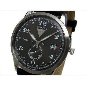 ユンカース JUNKERS 腕時計 DESSAU 1926 FLATLINE 6334-2QZ ブラック|ippin