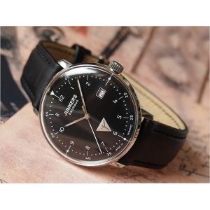 ユンカース JUNKERS 腕時計 BAUHAUS 6046-2QZ クォーツ ブラック|ippin