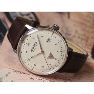 ユンカース JUNKERS 腕時計 BAUHAUS 6046-5QZ クォーツ クリーム|ippin