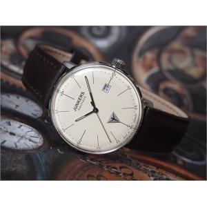 ユンカース JUNKERS 腕時計 BAUHAUS 6070-5QZ クォーツ クリーム|ippin