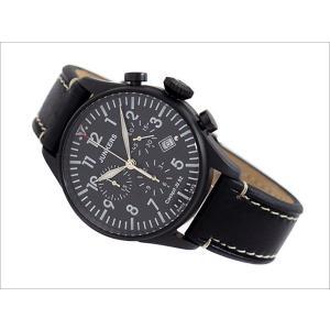 ユンカース JUNKERS 腕時計 COCKPIT JU52 6182-2QZ クォーツ クロノグラフ ブラック|ippin