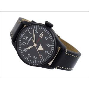 ユンカース JUNKERS 腕時計 COCKPIT JU52 6152-2AT 自動巻 ブラック|ippin