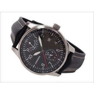ユンカース JUNKERS 腕時計 HUGO JUNKERS 6666-2AT 自動巻 ブラック|ippin