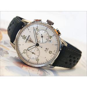 ユンカース JUNKERS 腕時計 G38 6984-4QZ クロノグラフ ホワイト|ippin