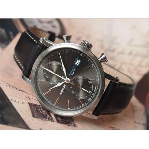 ユンカース JUNKERS 腕時計 6588-2QZ EXPEDITION クォーツ ダークグレー|ippin