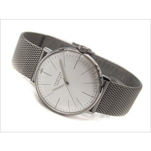 ユンハンス JUNGHANS 腕時計 027/3004.44 機械式手巻 メッシュメタルベルト|ippin