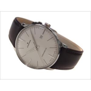 ユンハンス JUNGHANS 腕時計 027/4130.00 機械式自動巻 レザーベルト マイスタークロノメーター|ippin