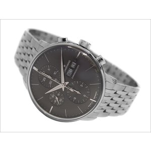 ユンハンス JUNGHANS 腕時計 027/4324.45 機械式自動巻 メタルベルト クロノスコープ|ippin