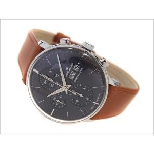 ユンハンス JUNGHANS 腕時計 027/4526.01 機械式自動巻 レザーベルト クロノスコープ|ippin