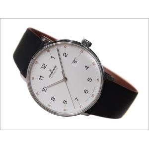 ユンハンス JUNGHANS 腕時計 027/4731.00 機械式自動巻 レザーベルト|ippin