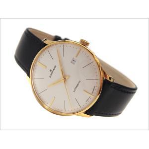 ユンハンス JUNGHANS 腕時計 027/7312.00 機械式自動巻 レザーベルト|ippin