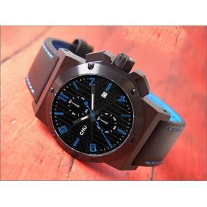 クラス14 KLASSE14 腕時計 IVY CHU CHRONOGRAPH CH14BK001M メンズ レザーベルト ippin