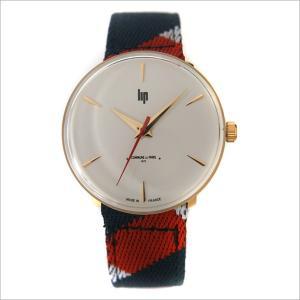 リップ LIP 腕時計 670005 パノラミック テキスタイルベルト クォーツ コミューン ドゥ パリ コラボモデル|ippin