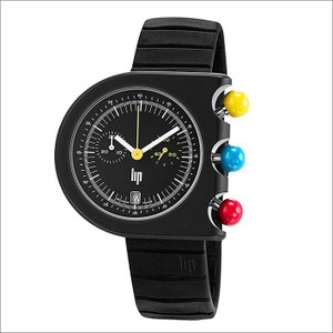 リップ LIP 腕時計 671080 マッハ2000 クロノグラフ ラバーベルト クォーツ|ippin