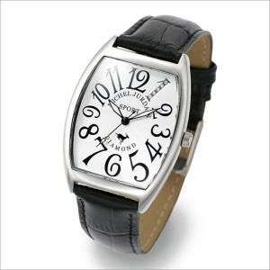 ミッシェル ジョルダン MICHEL JURDAIN 腕時計 SG-1000-11 メンズ レザーベルト|ippin