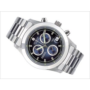 スイスミリタリー SWISS MILITARY 腕時計 ELEGANT CHRONO ML245 クロノグラフ ブルー 40mm メンズ メタルベルト|ippin