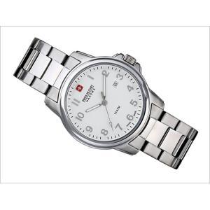 スイスミリタリー SWISS MILITARY 腕時計 CLASSIC RECRUIT ML282 3針 メンズ 40mm メンズ メタルベルト|ippin