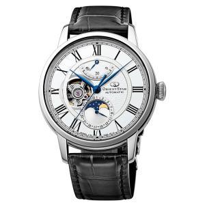 オリエント ORIENT 腕時計 RK-AM0001S メカニカルムーンフェイズ レザーベルト メンズ|ippin