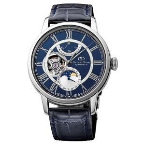 オリエント ORIENT 腕時計 RK-AM0002L メカニカルムーンフェイズ レザーベルト メンズ|ippin