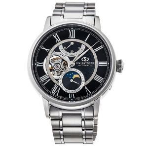オリエント ORIENT 腕時計 RK-AM0004B メカニカルムーンフェイズ メタルベルト メンズ|ippin