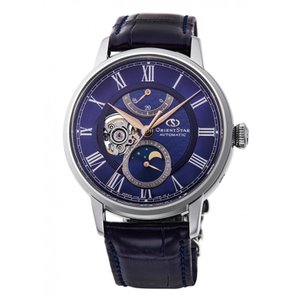 オリエント ORIENT 腕時計 RK-AM0006L メカニカルムーンフェイズ レザーベルト メンズ|ippin