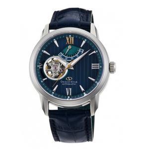 オリエント ORIENT 腕時計 RK-DA0001L オリエントスター セミスケルトン レザーベルト メンズ|ippin