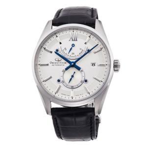 オリエント ORIENT 腕時計 RK-HK0005S コンテンポラリー スリムデイト レザーベルト メンズ|ippin