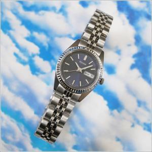 パルサー PULSAR 腕時計 ドレス PN8001 ネイビー メタルベルト レディース|ippin