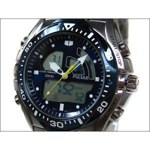 パルサー PULSAR 腕時計 テックギア PP4005 ネイビー メタルベルト|ippin