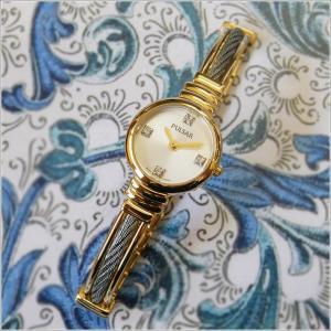 パルサー PULSAR 腕時計 スワロフスキークリスタルコレクション PTA370 メタルベルト レディース|ippin