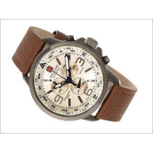 スイスミリタリー SWISS MILITARY 腕時計 ARROW ML-398 クロノグラフ メンズ レザーベルト|ippin