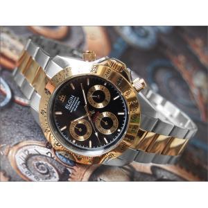 エルジン ELGIN 腕時計 クロノグラフ FK1059TG-B コンビ メタルベルト|ippin