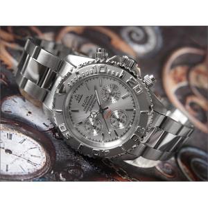 エルジン ELGIN 腕時計 クロノグラフ FK1120S シルバー メタルベルト|ippin
