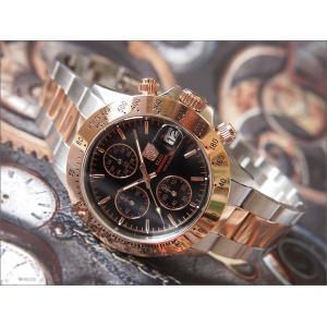 エルジン ELGIN 腕時計 クロノグラフ FK1184PG-B ピンクゴールド メタルベルト|ippin
