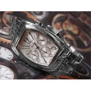 エルジン ELGIN 腕時計 クロノグラフ FK1215S シルバー メタルベルト|ippin