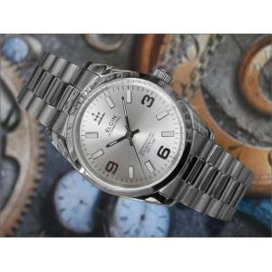 エルジン ELGIN 腕時計 3針クォーツ FK1421S-S シルバー メタルベルト|ippin