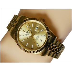 エルジン ELGIN 腕時計 3針クォーツ FK1422G-G ゴールド メタルベルト|ippin