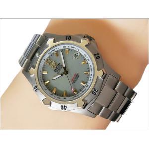 エルジン ELGIN 腕時計 クォーツ ソーラー FK1423TI-BR 蓄光 メタルベルト|ippin