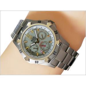 エルジン ELGIN 腕時計 クォーツ ソーラー FK1424TI-BR 蓄光 メタルベルト|ippin