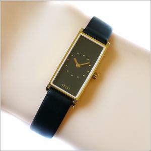 エービーアート a.b.art 腕時計 SERIES I I-521 ブラック文字盤 29×15mm ブラック カーフレザーベルト クォーツ ippin
