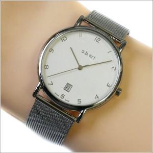 エービーアート a.b.art 腕時計 SERIES KLD KLD-107 シルバー文字盤 38mm シルバー メッシュメタルベルト クォーツ ippin