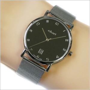 エービーアート a.b.art 腕時計 SERIES KLD KLD-108 ブラック文字盤 38mm シルバー メッシュメタルベルト クォーツ ippin
