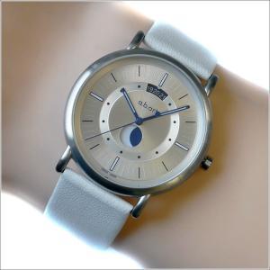 エービーアート a.b.art 腕時計 SERIES KLD KLD-201 シルバー文字盤 38mm ホワイト カーフレザーベルト クォーツ ippin