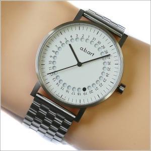 エービーアート a.b.art 腕時計 SERIES O O-101(W) ホワイト文字盤 41mm シルバー メタルベルト クォーツ ippin