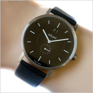 エービーアート a.b.art 腕時計 SERIES O O-602 ブラック文字盤 41mm ブラック カーフレザーベルト クォーツ ippin