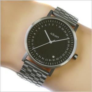 エービーアート a.b.art 腕時計 SERIES O O-102 ブラック文字盤 41mm シルバー ステンレス クォーツ|ippin