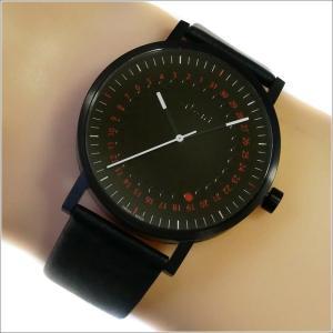 エービーアート a.b.art 腕時計 SERIES O O-150 ブラック文字盤 41mm ブラック カーフレザー クォーツ|ippin