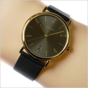 エービーアート a.b.art 腕時計 SERIES KLD KLD-121BK ブラック文字盤 38mm ブラック カーフレザー クォーツ|ippin